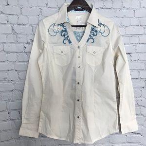 Wrangler Western Snap Front Shirt